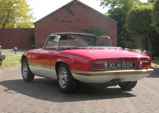 Elan Drop top Coupe