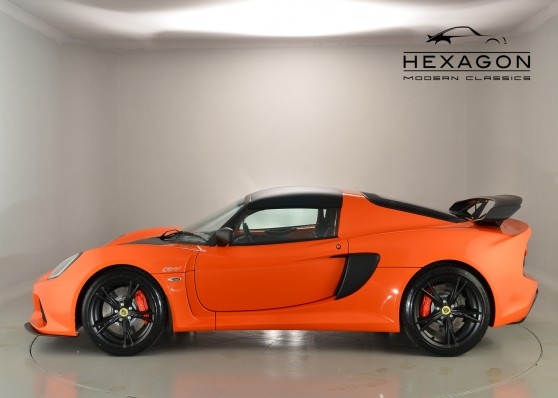 EXIGE S CLUB RACER COUPE,  2016, A/c, Rear Park Sensors, USB, NOW SOLD!