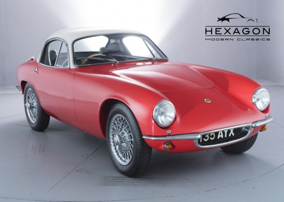 PRE-1996 MODELS LOTUS ELITE S2 SE (1960) - NOW SOLD £59,995