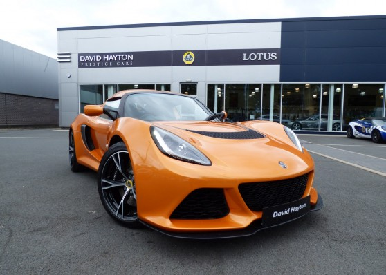 EXIGE S 3.5 V6 S Race, Convenience, Sport Packs £46,995